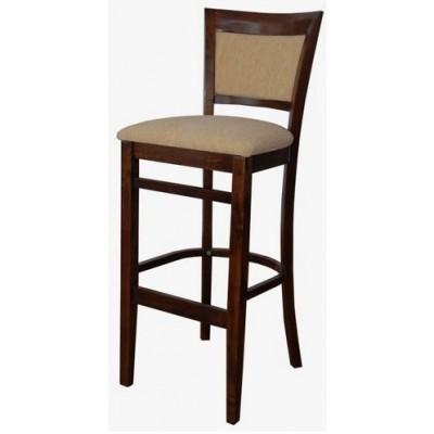 Бар стол Нико с тапицирана облегалка