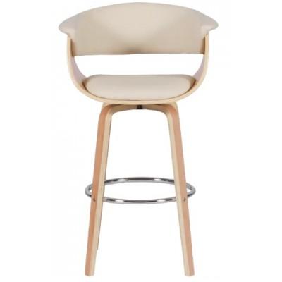 Бар стол Carmen 4040 бук/ крем