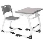 Единичен ученически чин със стол Carmen CR-002/021