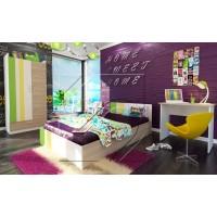 Марио Детска стая с легло 120х190