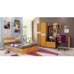 Обзавеждане за детска стая Диего с легло 120/190 см