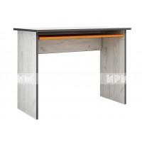 Мики модул 9 бюро - дъб крафт бял/оранжево