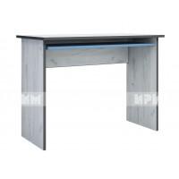 Мики модул 9 бюро - дъб крафт бял/синьо