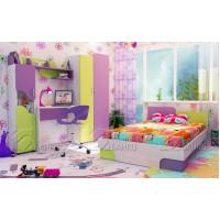Обзавеждане за детска стая Джой с легло 120/190 см