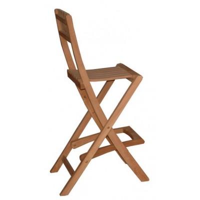 183 Бар стол Пергола от тиково дърво