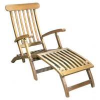 186 Стол релакс от тиково дърво
