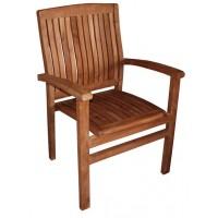 282 Стол Сиатъл от тиково дърво