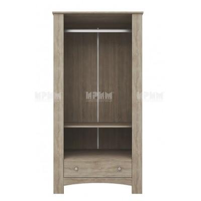 Двукрилен гардероб CITY 1015