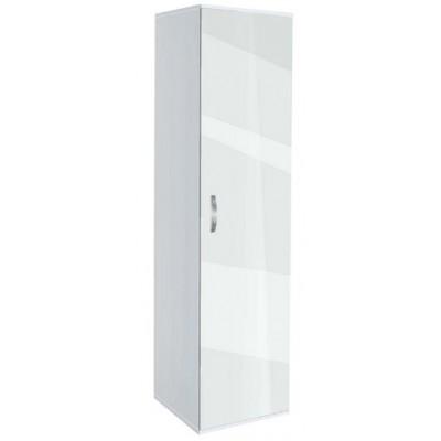 Бял еднокрилен гардероб Ава 1