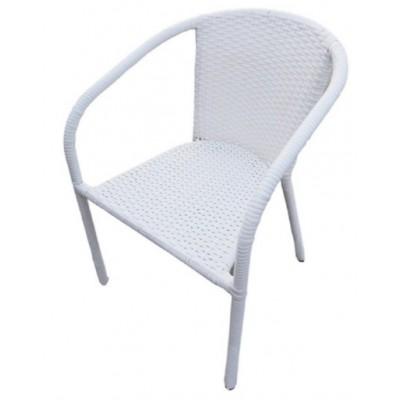 Стол ВИТО бял ратан