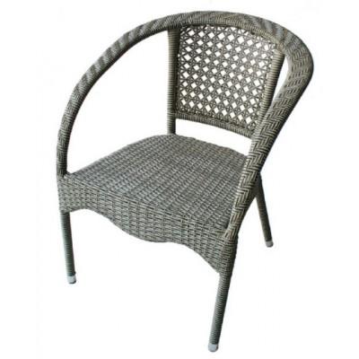 Ратанов стол 220 сиво-бежов ратан