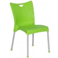 Пластмасов градински стол ACELYA зелен
