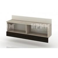 БЕСТА 87 - модул хоризонтална стенна етажерка 100 см