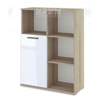 БЕСТА 82 - модул холен шкаф с една врата и етажерки