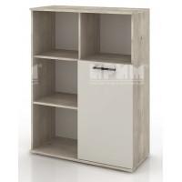БЕСТА 61 - модул холен шкаф с една врата и етажерки