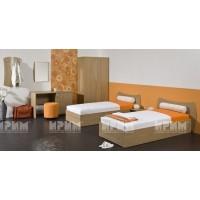 Хотелско обзавеждане с единични легла Борнео