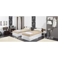 Хотелско обзавеждане с единични легла Мерида