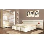 Спален комплект с тапицирано легло Портофино