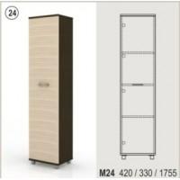 Висок холен шкаф с 1 плътна врата Колт Модул 24