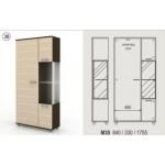 Комбиниран холен шкаф с гардероб Колт Модул 30
