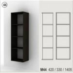 Холен шкаф - отворена стенна етажерка Колт модул 44