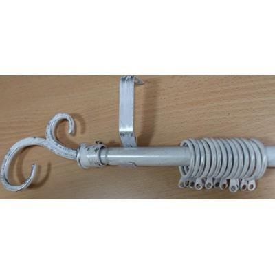Метален Корниз м.№1 А19090 160/300 бяло/сребро - 88 KOR000212