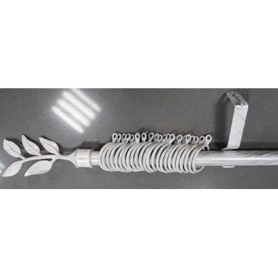 Метален Корниз м.№3 А19250 110/220 бяло/сребро - 88 KOR000044