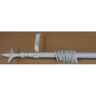 Метален Корниз м.№5 А19020 160/300 бяло/сребро - 88 KOR000281