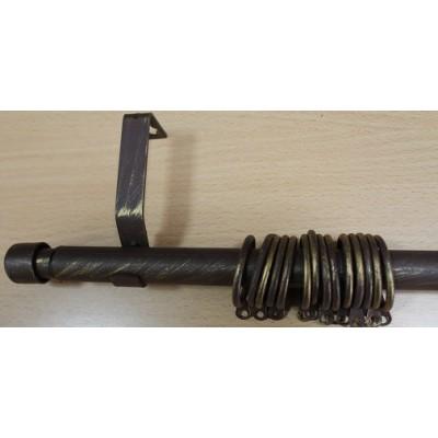 Метален Корниз м.№6 C19010 110/200 кафяво - 88 KOR000100