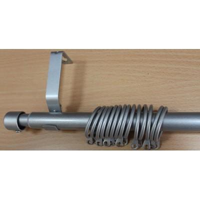 Метален Корниз м.№6 C19010 160/300 сив - 88 KOR000287