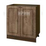Долен кухненски шкаф 80 см Сити ВФ-Дъб натурал-06-23