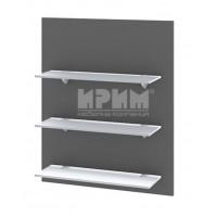 Ф-06-106 кухненска етажерка 60 см със стъклени рафтове