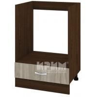 CITY ВС - 36 кухненски долен шкаф 60 см модул за фурна с чекмедже, без горен плот