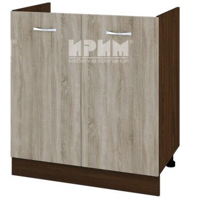 CITY ВС - 30 кухненски долен шкаф 80 см за бордова мивка