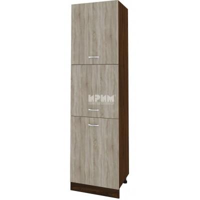 CITY ВС - 45 кухненски колонен шкаф 60 см с три врати
