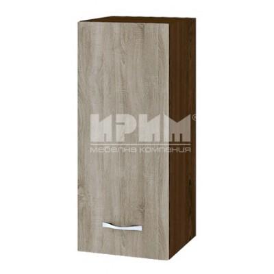 CITY ВС - 1 кухненски горен шкаф 30 см с врата и рафт (ляв/десен)