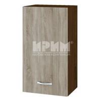 CITY ВС - 2 кухненски горен шкаф 40 см с врата и рафт (ляв/десен)