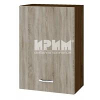 CITY ВС - 18 кухненски горен шкаф 50 см с врата и рафт (ляв/десен)