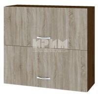 CITY БС - 112 кухненски горен шкаф 80 см с две хоризонтални врати