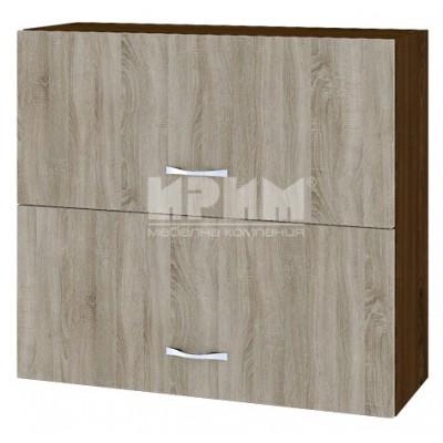 CITY ВС - 12 кухненски горен шкаф 80 см с две хоризонтални врати