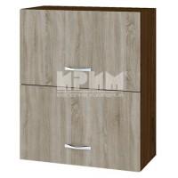 CITY ВС - 11 кухненски горен шкаф 60 см с две хоризонтални врати