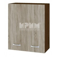 CITY ВС - 3 кухненски горен шкаф 60 см с две врати и рафт