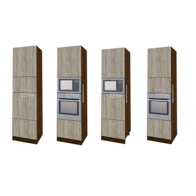 CITY ВС - 48 кухненски колонен шкаф 60 см с 4 врати