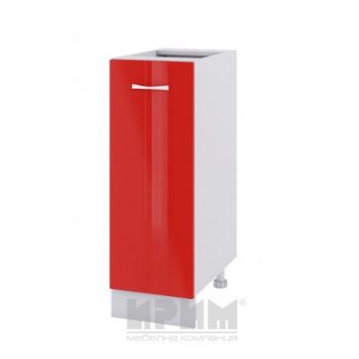 CITY БЧ - 420 кухненски долен шкаф 30 см с една врата - без горен плот