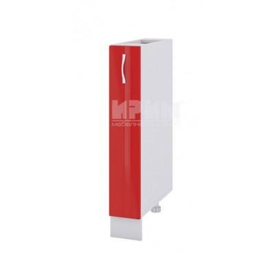 Долен кухненски шкаф бутилиера 15 см Сити БЧ - 41