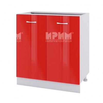 CITY БЧ - 442 кухненски долен шкаф за ъгъл 90 см с врата и рафт (ляв/десен) без термо-устойчив плот