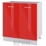 CITY БЧ - 423 кухненски долен шкаф 80 см с две врати - без горен плот
