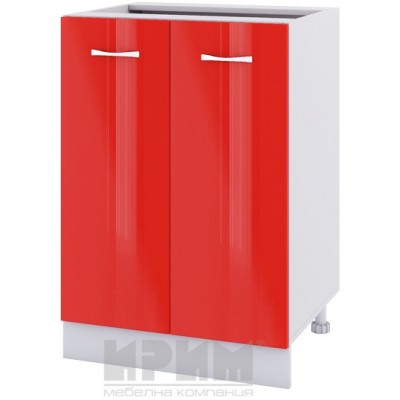 CITY БЧ - 422 кухненски долен шкаф 60 см с две врати - без горен плот