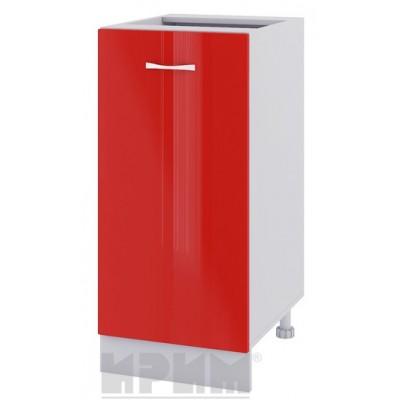 CITY БЧ - 421 кухненски долен шкаф 40 см с една врата - без горен плот