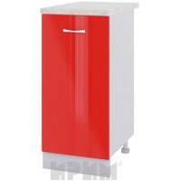 CITY БЧ - 421 кухненски долен шкаф 40 см с една врата - ляв и десен и рафт